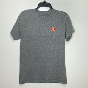 ESSEX Dry Goods Unisex Gray shirt w Chinese patch